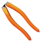 Contoured handles, cushioned grips